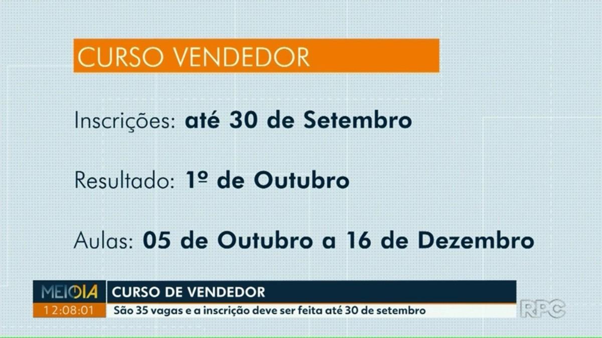 Senac oferece 35 vagas para curso gratuito de vendedor, em Foz do Iguaçu