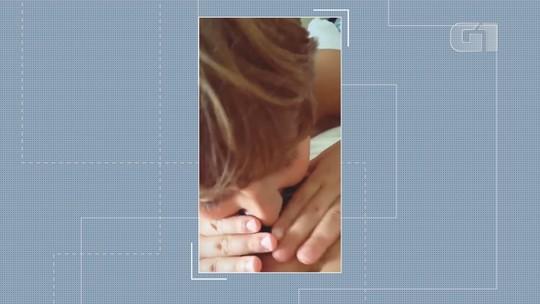 Grávida de uma menina, Claudia Leitte posta vídeo com filho beijando a barriga
