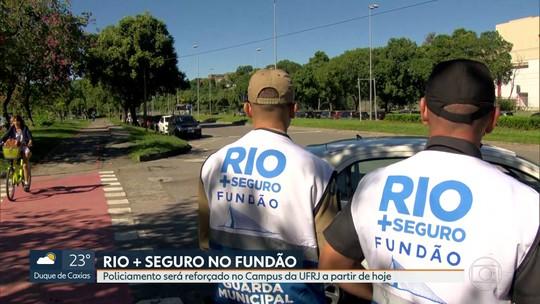 Começa hoje o programa Rio + Seguro, no campus da UFRJ, na Ilha do Fundão