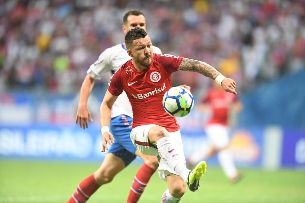 Rossi atuou na última temporada pelo Internacional — Foto: Ricardo Duarte / Internacional / Divulgação