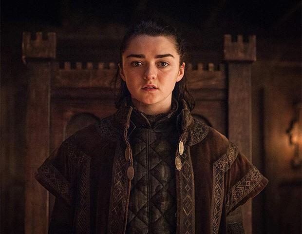 Maisie Williams como Arya Stark (Foto: Divulgação)