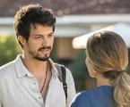 Na segunda-feria (30), Marcos (Romulo Estrela) perguntará a Paloma (Grazi Massafera) se ela aceita voltar para seu emprego | TV Globo
