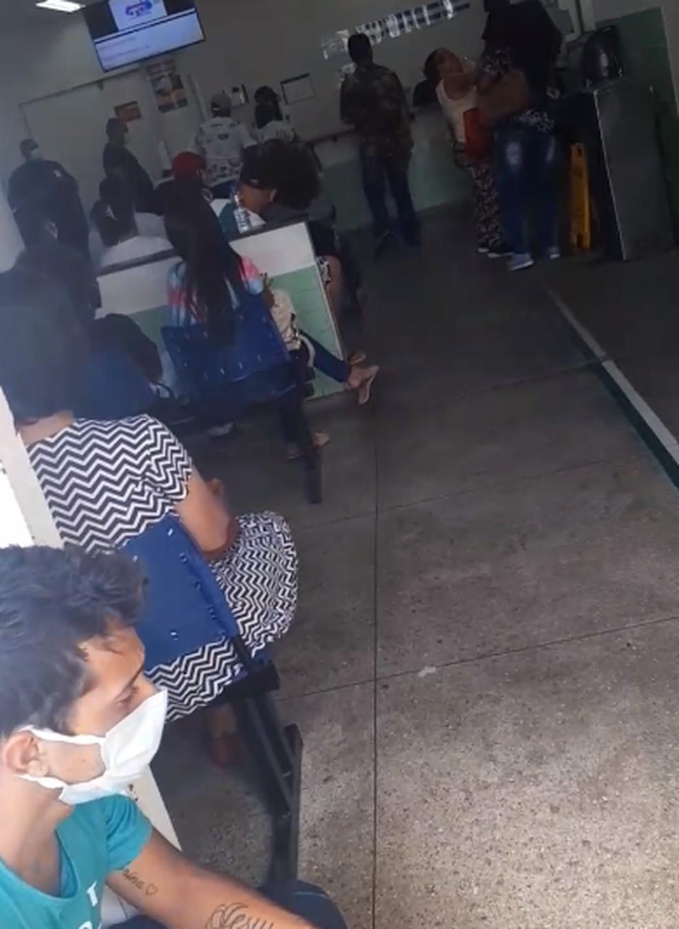 UPA JK em Contagem — Foto: Eduarda Brazil