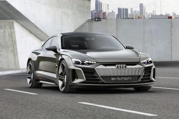 Audi e-tron GT (Foto: Divulgação/Audi)