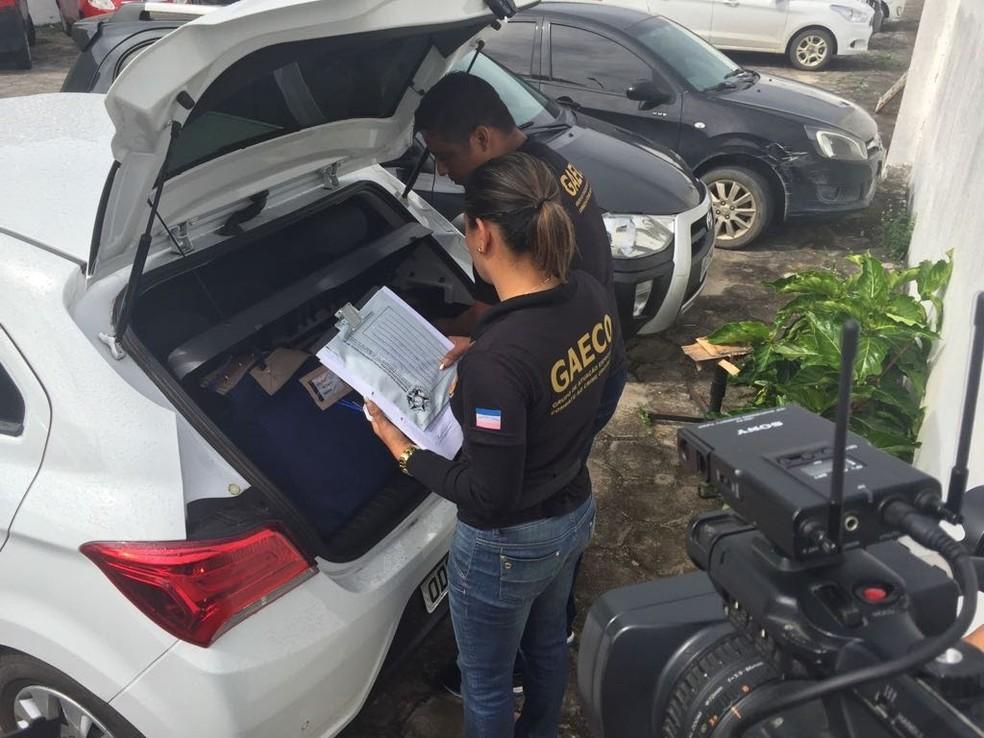 Apreensão aconteceu em quatro municípios do Espírito Santo (Foto: Divulgação/ MP-ES)