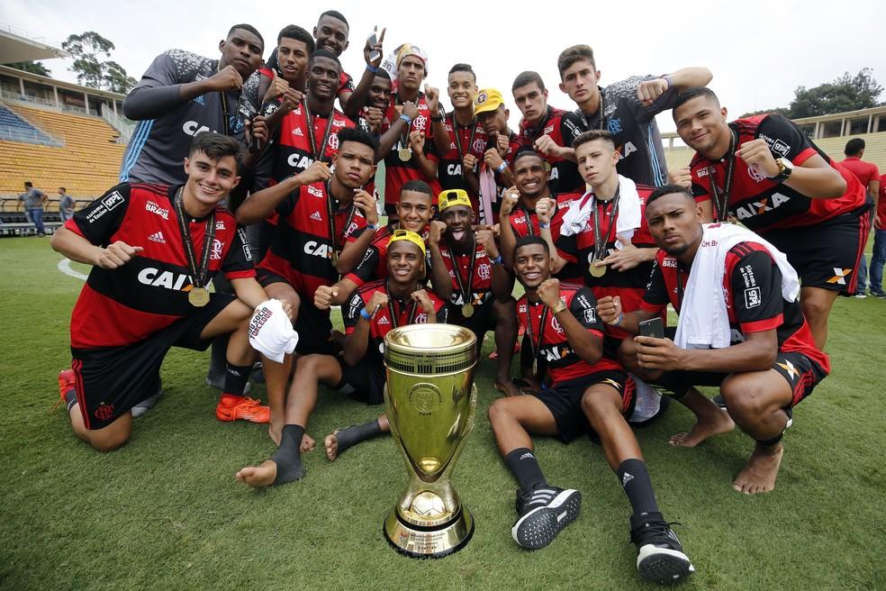 ... Flamengo é o atual campeão da Copinha — Foto  Divulgação Flamengo 359a81cf12ff7