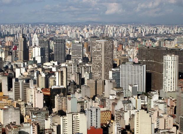 Centro de São Paulo (Foto: Wikipedia/Reprodução)
