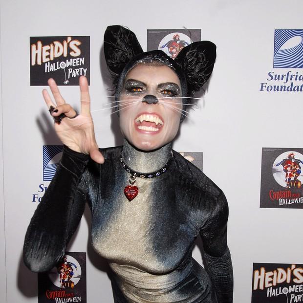 Heidi Klum de gatinha (Foto: Getty Images)