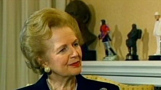Privatização era um dos temas favoritos de Margareth Thatcher