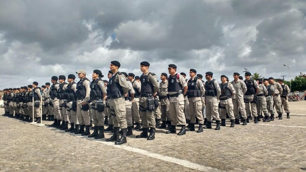 Guarda dos ex-governadores deverá ser feita por oficiais e praças da Polícia Militar (Foto: Wagner Varela/Assessoria de Comunicação PMPB)