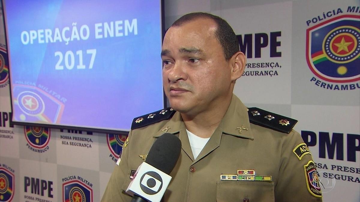 PM de Pernambuco anuncia esquema de segurança para provas do Enem
