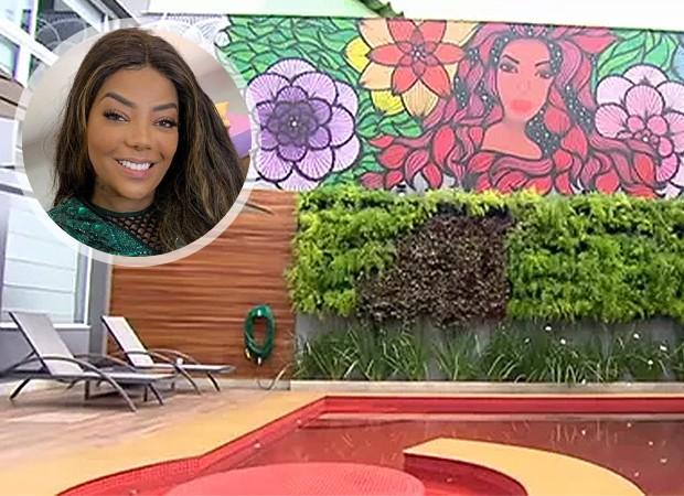 Ludmilla mostra sua nova casa no Rio, com piscina vermelha e oito ...
