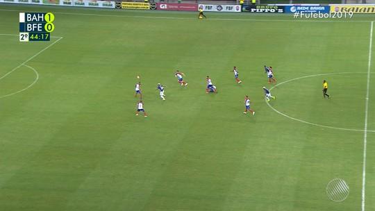 Confira os melhores momentos de Bahia 1 x 0 Bahia de Feira
