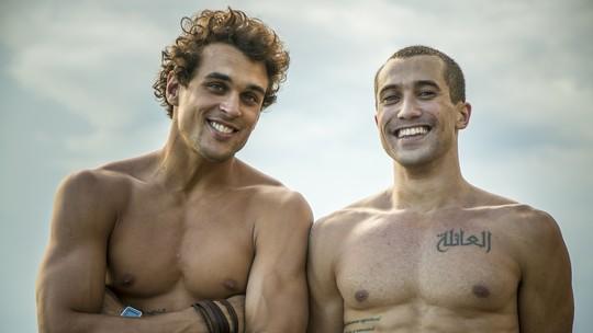 Felipe Roque e Ricardo Vianna se emocionam na despedida de 'Malhação'