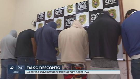 Grupo é preso suspeito de fraudar pagamentos do IPVA na Grande BH