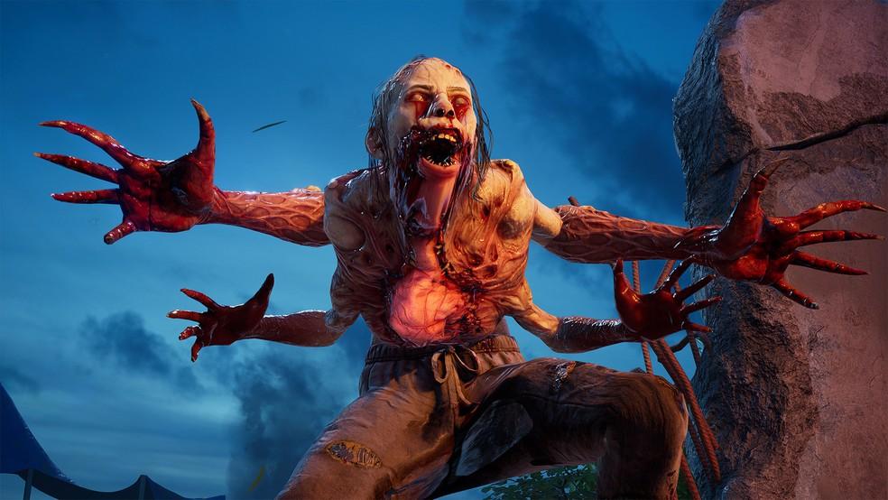 Back 4 Blood tem gameplay com zumbis assustadores que jogadores precisam derrotar — Foto: Divulgação/Turtle Rock Studios