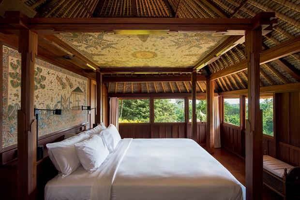O interior da suíte do Amandari, em Bali. (Foto: Cortesia Aman e Divulgação)