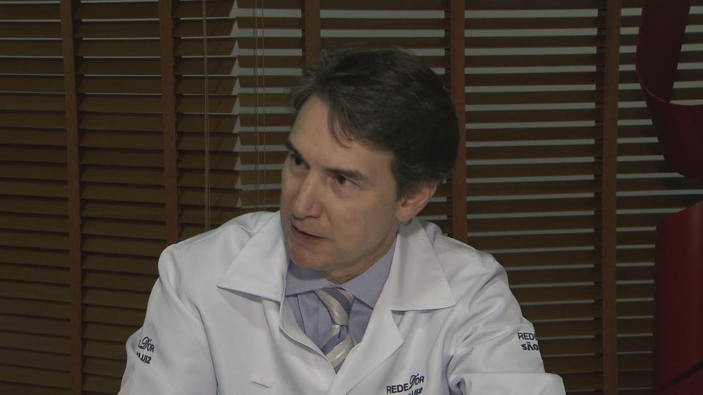 O uro-oncologista de Brasília Diogo Mendes (Foto: TV Globo/Reprodução)