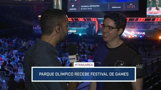 Repórter mostra a DreamHack Rio, campeonato de games