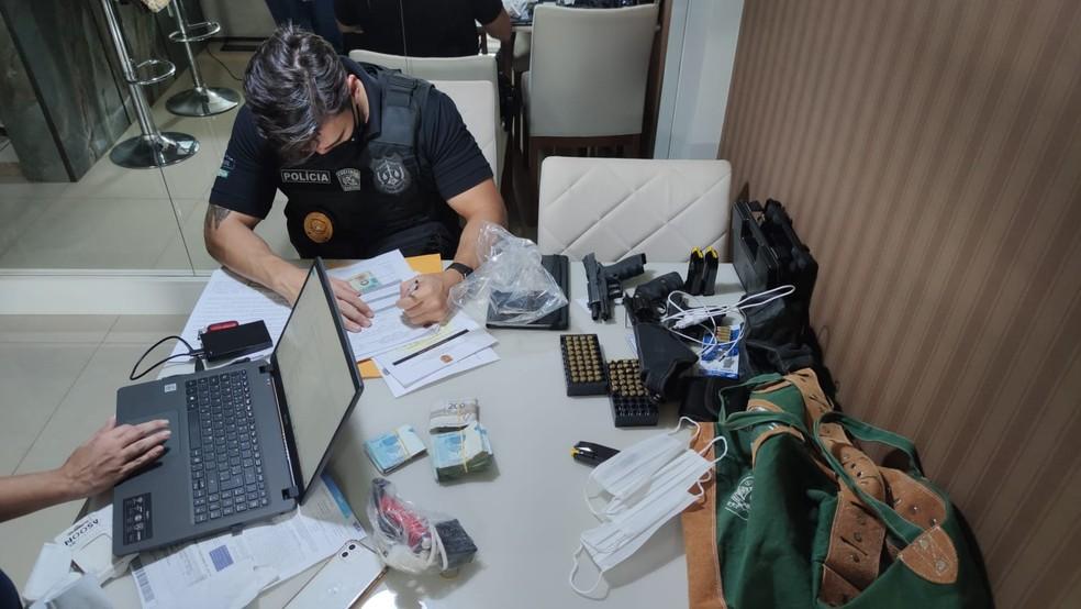 Operação investiga desvios de verba de escolas públicas do DF — Foto: PCDF/Divulgação