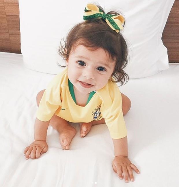 Maria Eduarda, filha de Marquinhos e Carol Cabrino (Foto: Reprodução/Instagram)