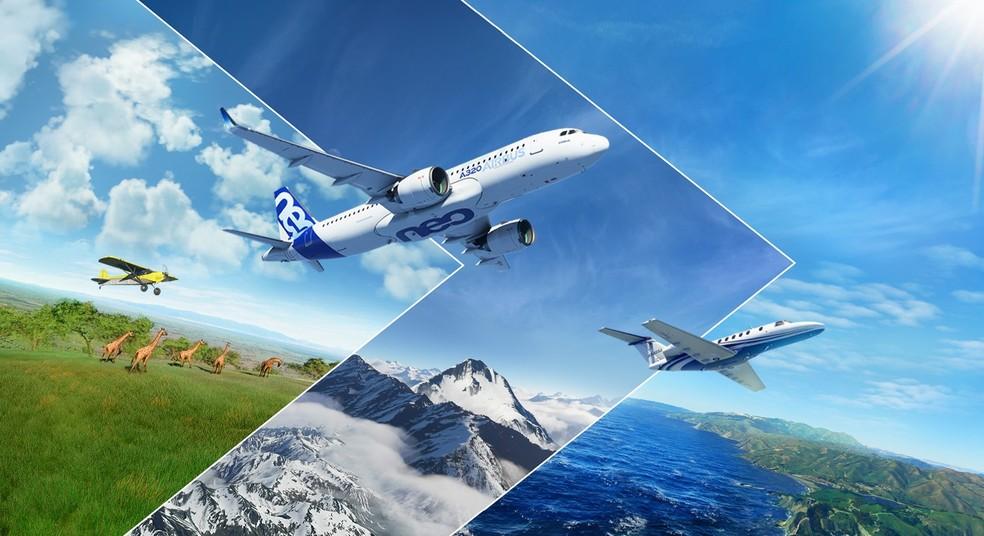 Microsoft Flight Simulator chega 14 anos após antecessor com grandes melhorias — Foto: Divulgação/Microsoft