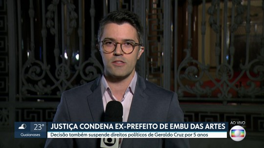 Justiça condena ex-prefeito de Embu das Artes