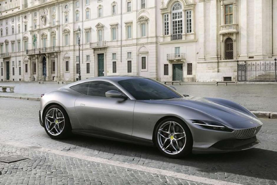 Ferrari Roma - Frente (Foto: Divulgação)