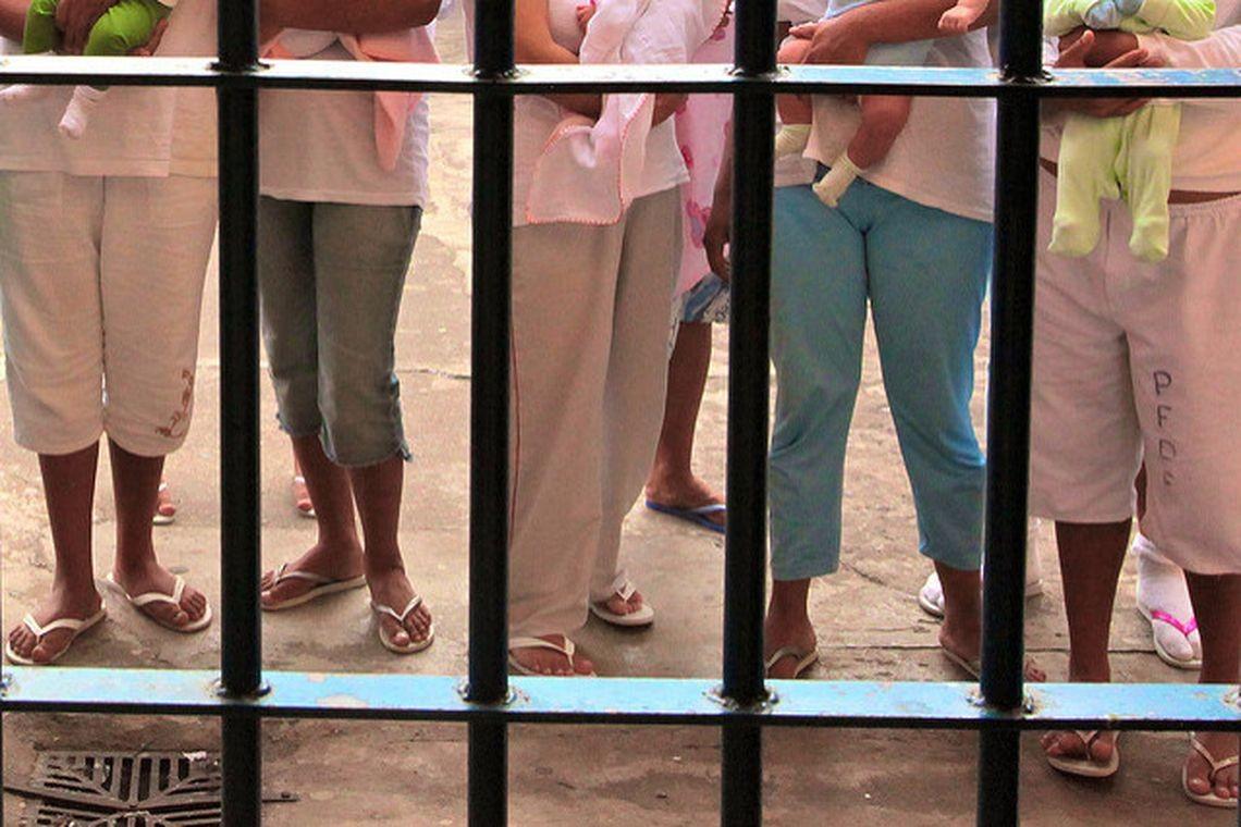 Mulheres presas (Foto: Luiz Silveira/Agência CNJ/ Direitos Reservados/Agência Brasil)