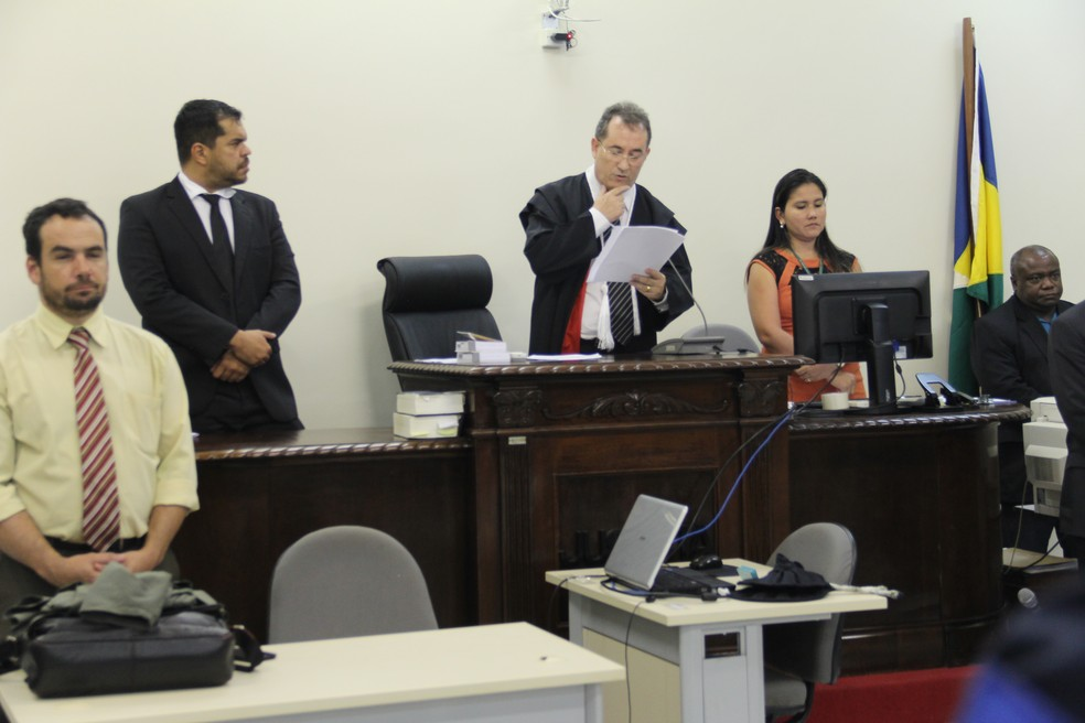Julgamento Naiara Karine 2016, em Porto Velho, RO, terceiro dia — Foto: TJ-RO/Divulgação
