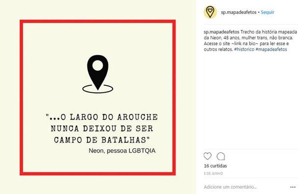 Plataforma mapeia histórias invisíveis em São Paulo (Foto: Divulgação)