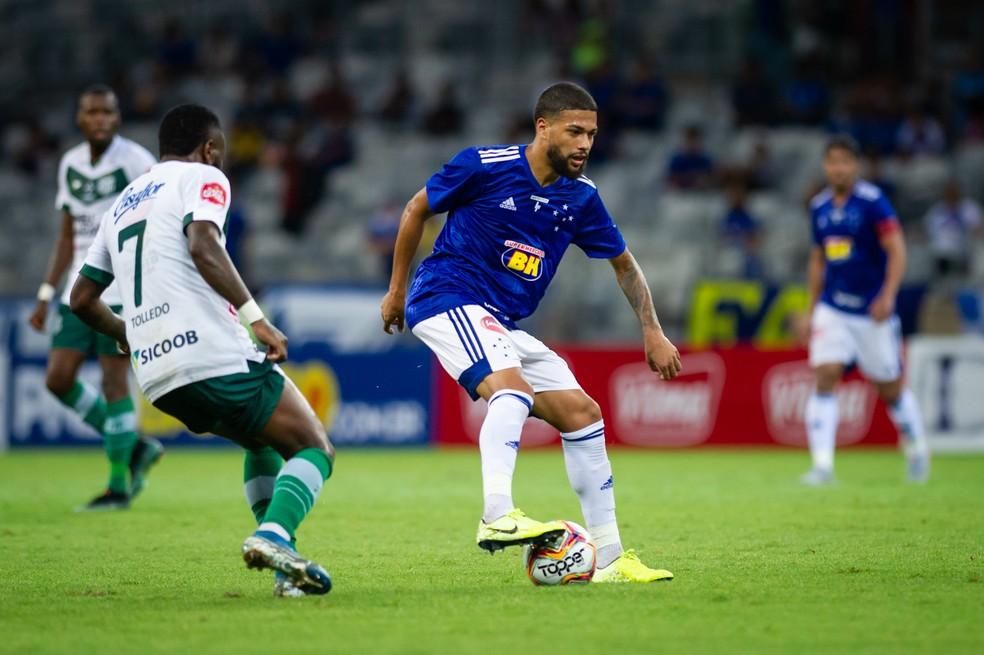 Machado ganhou confiança com Adilson Batista, que já deixou o Cruzeiro — Foto: Bruno Haddad/ Cruzeiro