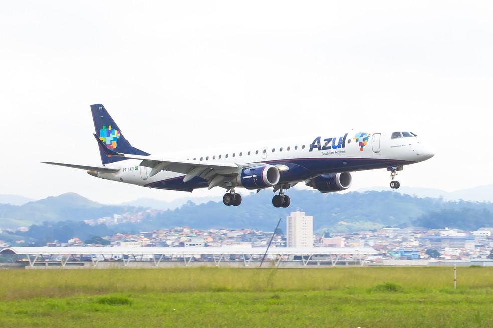Azul confirma voos domésticos para Mossoró a partir de junho (Foto: Celso Tavares/G1)
