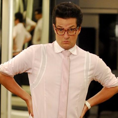 Marcelo Serrado interpretou Crô, o mordomo de fiel escudeiro de Tereza Cristina. O papel fez tanto sucesso que chegou a ganhar seu próprio filme (Foto: TV Globo)