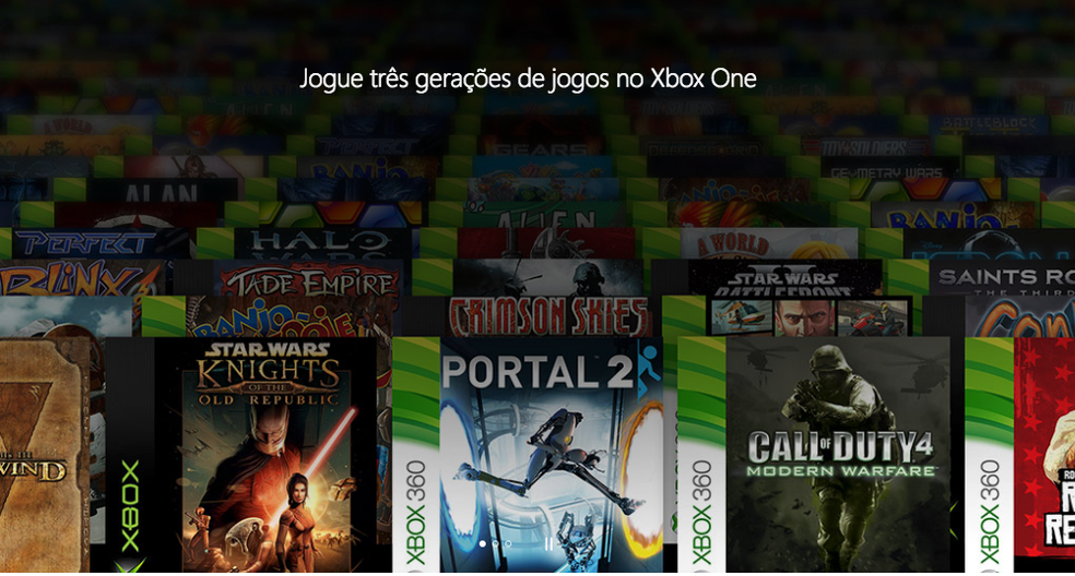 Retrocompatibilidade é um dos pilares dos consoles da Microsoft — Foto: Divulgação/Microsoft
