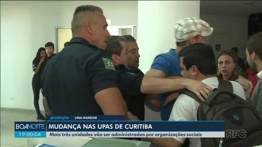 Conselho autoriza que mais três UPAs sejam gerenciadas por organizações sociais, em Curitiba