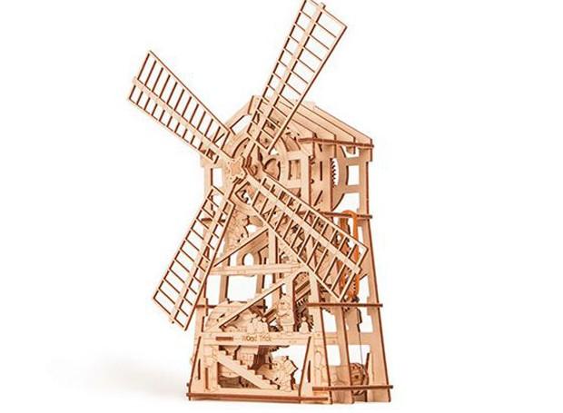 quebra-cabeca-3d-de-madeira-de-reflorestamento-wood-trick-moinho-de-vento.jpg (Foto: Divulgação)