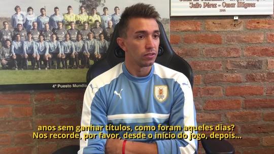Da mão de Suárez a Felipe Melo: Muslera lembra decisões e defende ex-colega de clube