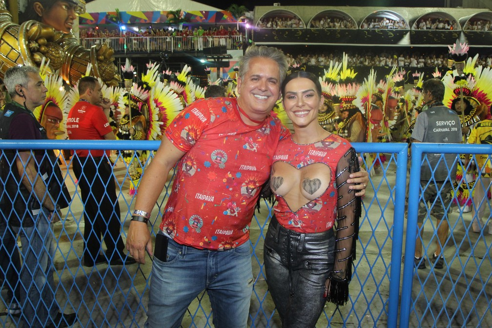 Cleo Pires com Orlando Moraes (Foto: Marcello Sá Barretto / Brazil News)