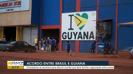 Reunião em RR busca soluções para transporte de mercadorias e passageiros entre Brasil e Guiana