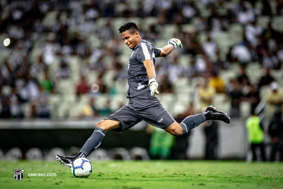 Diogo Silva estava no Ceará antes de acertar com o CRB — Foto: Stephan Eilert /cearasc.com