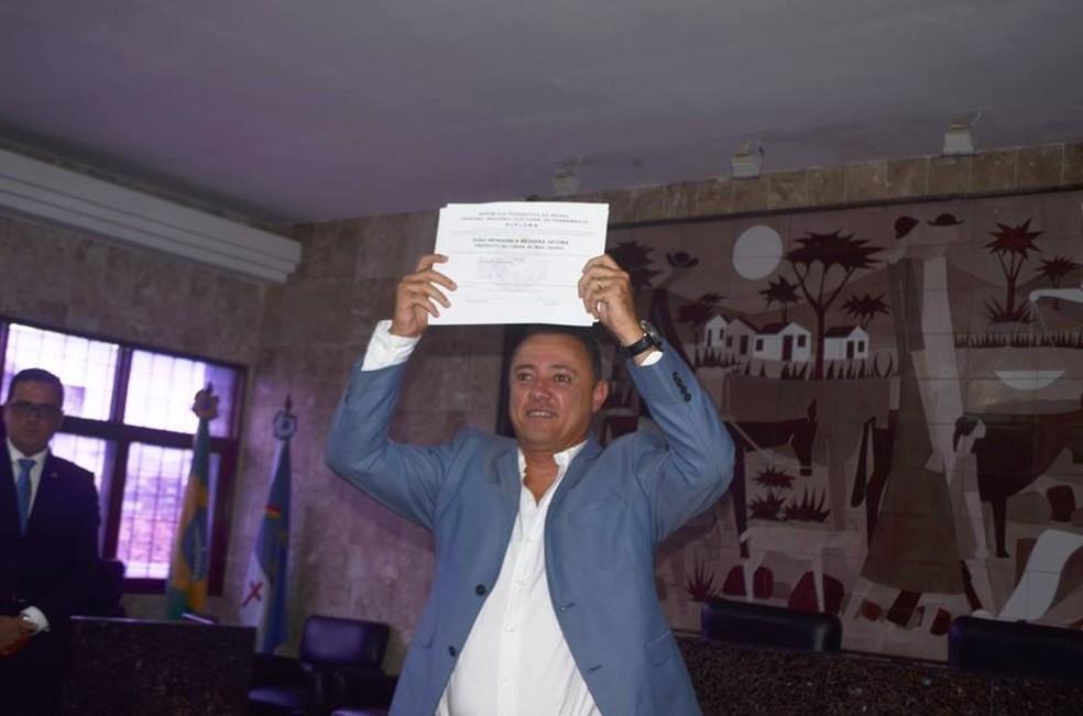 João Mendonça, ex-prefeito de Belo Jardim — Foto: Divulgação/Assessoria
