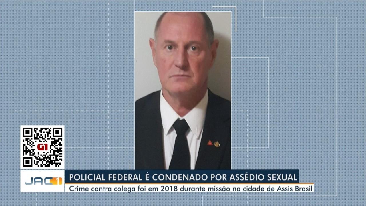 Policial federal é condenado por assédio sexual no AC