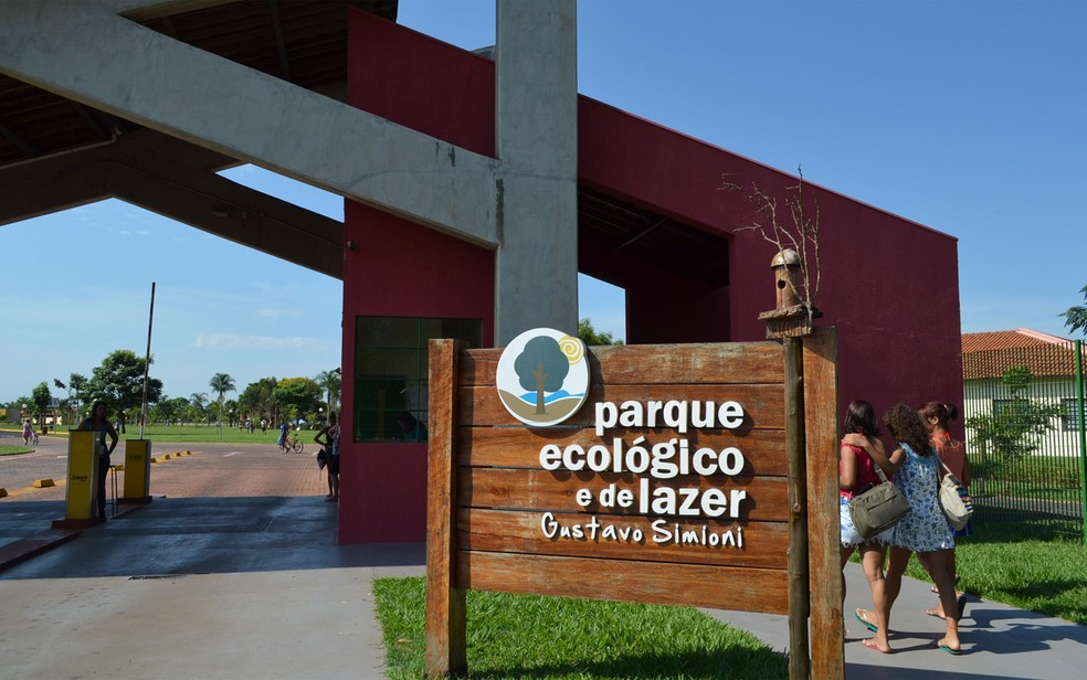 Parque Ecológico e de Lazer Gustavo Simioni recebe turistas do Roda SP 2018 — Foto: Amanda Pioli/G1