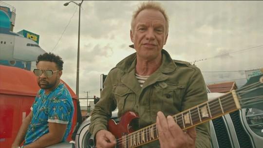 Sting faz parceria inédita com o cantor jamaicano Shaggy