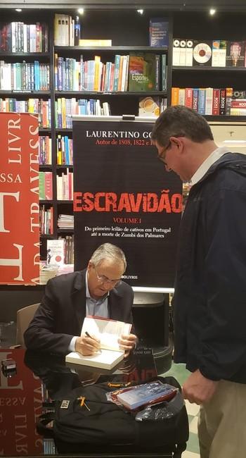 Laurentino Gomes e Joaquim Levy