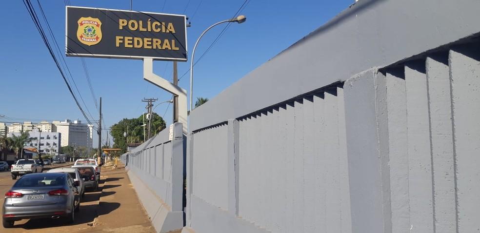 Sede da PF em Porto Velho; pf rondônia; pf porto velho — Foto: Rilmo Dantas/Rede Amazônica
