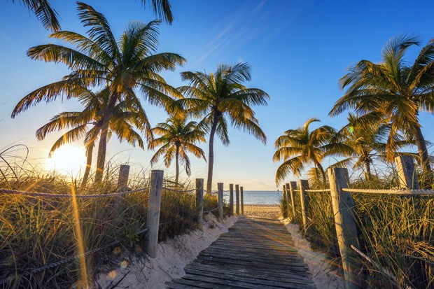 Famous passage to the beach - Key West (Foto: Getty Images/iStockphoto)