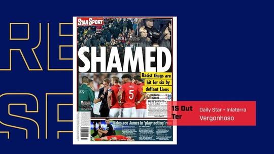 Seis pessoas são presas por atos racistas durante jogo da Bulgária