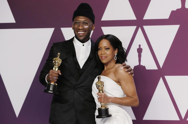 Mahershala Ali e Regina King (Foto: Mike Segar/Reuters)